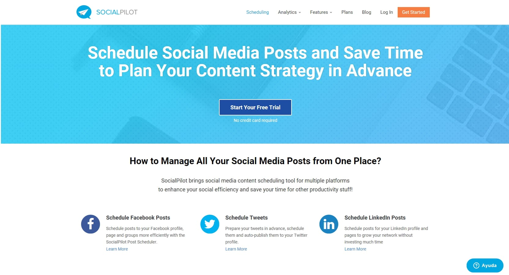 Socialpilot. Herramientas para marketing digital